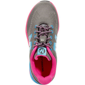 Merrell Versent Shoes Girls grey/pink/turq